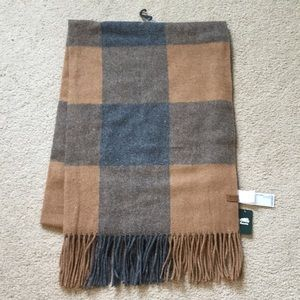 Roots plaid blanket scarf